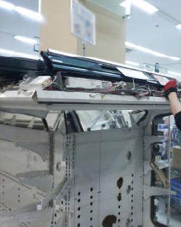 2_スーパー冷蔵庫ライトLED_設置前_取外1